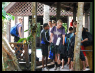 The Eco Camp is a great place for volunteers and eco concious visitors as a place to relax or study the Borneo Rainforest