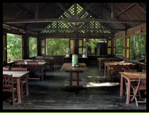 Eco Camp food is all local traditional foods much of which has its origins in the Borneo Rainforest