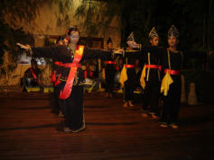 MESCOT team have revived local music and traditional dances and perform them regularly